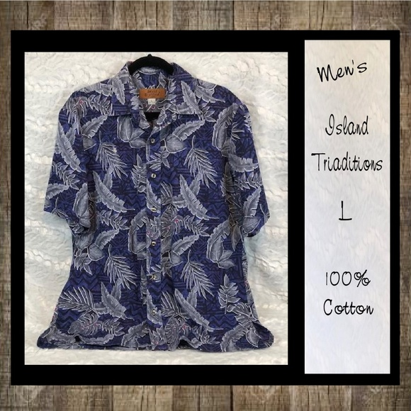 Island Traditions Other - Island Traditions Of Hawaii Short Sleeve Shirt Men